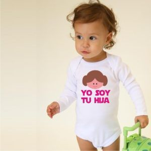 *Body o Camiseta Princesa Leia Star Wars-0